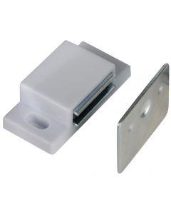 Richelieu #AP52030U - Magnetic Cabinet Catch - White - 10 Pack
