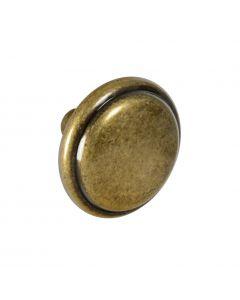 CKP Brand #636 1-3/16 in. (30mm) Round Knob, Antique English